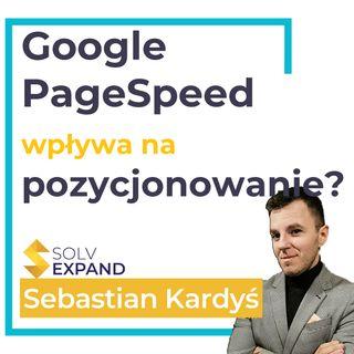 Wpływ szybkości (google pagespeed) strony na pozycje w wyszukiwarce google