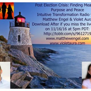 Post Election Crisis: Taming the Shadow, Finding Meaning & Peace