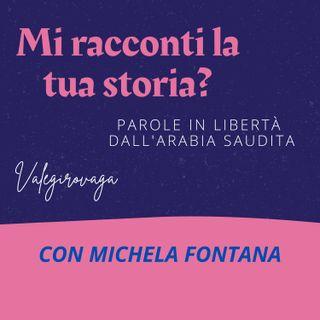 """MICHELA FONTANA - AUTRICE DI """"NONOSTANTE IL VELO"""" -TEMPO VISSUTO IN SAUDI 2010/2012"""