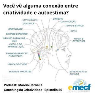 Episódio 29 - Você vê alguma conexão entre criatividade e autoestima?