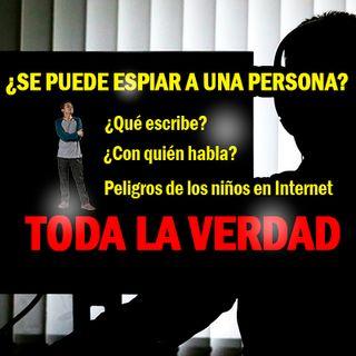¿Se puede espiar a una persona en Internet?