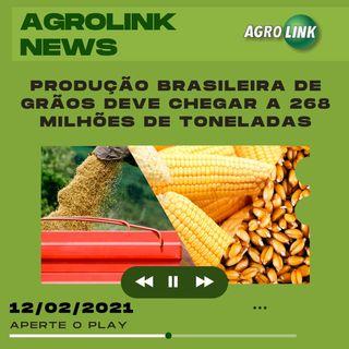 Agrolink News - Destaques do dia 12 de fevereiro