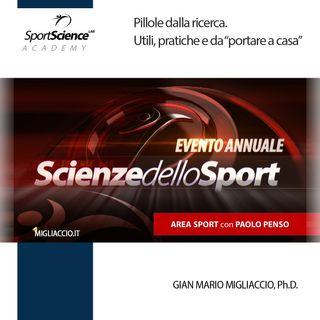 Area scientifica dello Sport con Paolo Penso