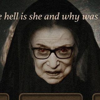 Ruth Ginsburg WAS responsibile for Roe vs Wade which led to MILLIONS of Babies being Murdered we spit on her grave