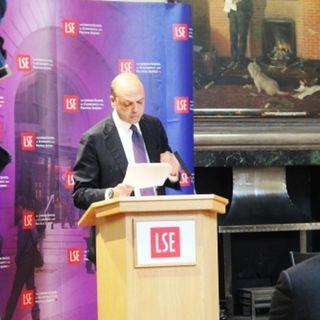 Ministro Angelino Alfano parla di immigrazione e coppie civili a Londra