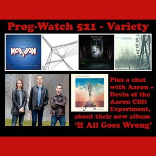 Prog-Watch 521 - Variety + an Aaron Clift Experiment Feature