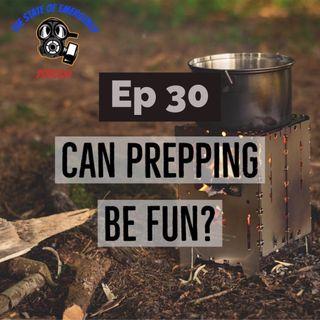 Can Prepping Be Fun?