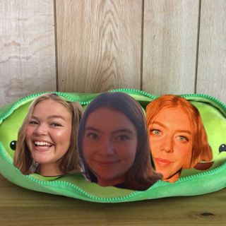 Three peas in a podcast