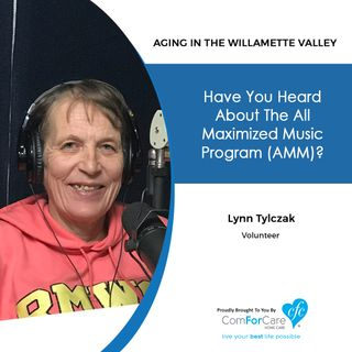 10/15/19: Lynn Tylczak with the All Maximized Music Program | Everything you wanted to know about the All Maximized Music program
