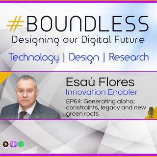 EP64: Esaú Flores, Innovation Enabler: Generating alpha; constraints, legacy and new green roots