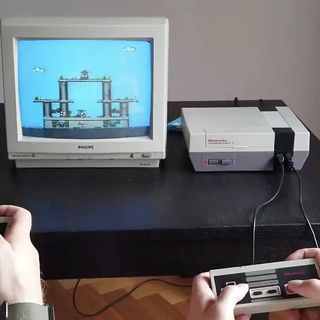 Super Tilt Bros. | A NEW game for your OLD NES....probably the coolest thing ever!