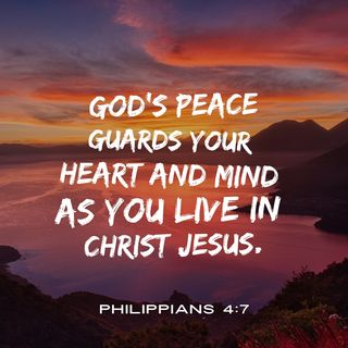Prayer for the Peace of God to Guard Your Heart Mind