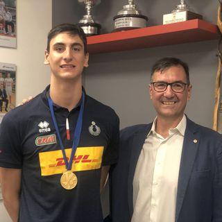 Il neo Campione d'Europa Michieletto Nulla è impossibile, grazie Trentino Volley
