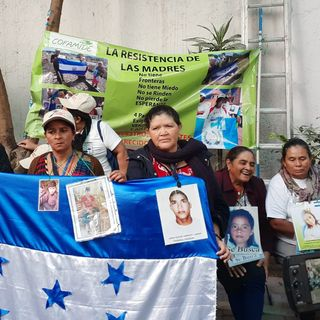 Caravana de madres de migrantes desaparecidos llega a CDMX