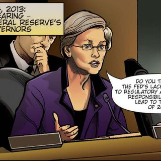 Elizabeth Warren Comic Book Gets A Sequel