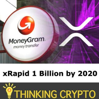 XRP WILL RISE! - Ripple CEO Talks MoneyGram & xRapid Volume 1 Billion 2020 - Binance US 30 Cryptos