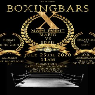 "☎️Thaboxingvoice Rap Battle: 🎤BOXING BARS 10: ""The Mandatory Championship ""🔥"