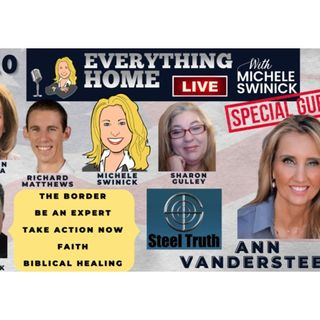 210: The Border, Be An Expert, Take Action Now, Faith, Bible + ANN VANDERSTEEL