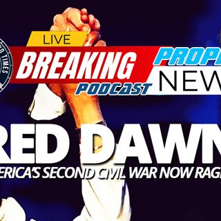 NTEB PROPHECY NEWS PODCAST: Biden Kills U.S. Energy Independence, Opens Borders To Illegal Immigration As America's New Civil War Heats Up