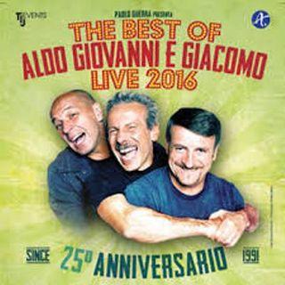 Aldo Giovanni e Giacomo, 25 anni di strepitosa carriera - The Best of - a Londra ....il nostro incontro Giacomo