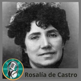 Lucía Fernández con Rosalía de Castro
