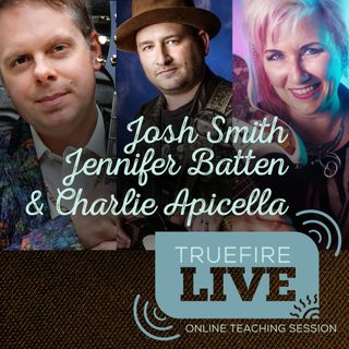 Josh Smith, Jennifer Batten, & Charlie Apicella Guitar Lessons, Performances, & Interviews