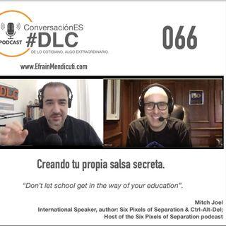 Episodio 066 - ConversaciónES #DLC con Mitch Joel