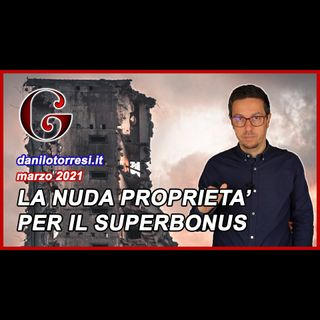 SUPERBONUS 110% Demolizione e Ricostruzione condominio unico proprietario: impianti e pertinenze