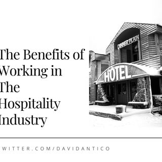 David Antico Explains The Benefits of Working in The Hospitality Industry