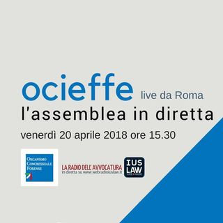 Assemblea Ocieffe - venerdì 20 aprile 2018