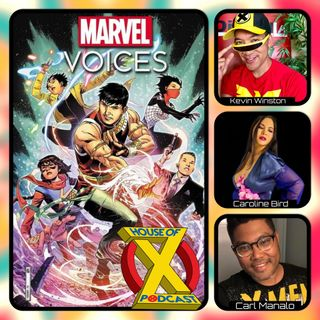 Episode 93 - MARVEL VOICES: IDENTITY Review