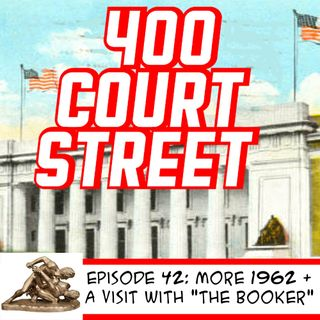 "400 Court Street -  Our Guest today""The Man They Call The Booker,"" podcaster and author Jeffery Wayne Bowdren"