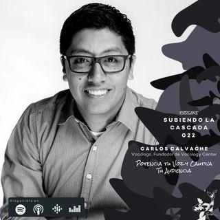 022 - Potencia tu Voz y Cautiva a Tu Audiencia con Carlos Calvache