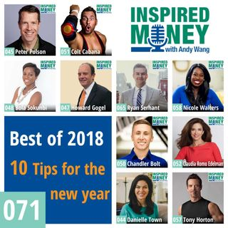 071: 10 Inspired Money Tips for the New Year | Best of 2018