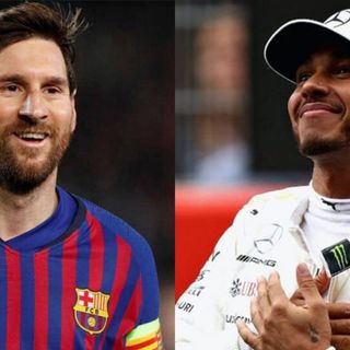 Messi y Hamilton ganan Premio Laureus Award