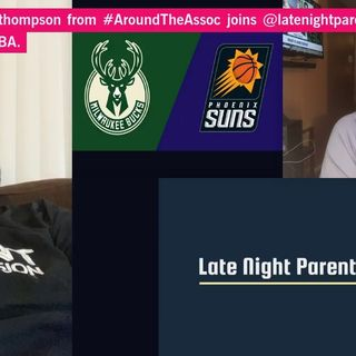 .@danny3thompson from #AroundTheAssoc joins @latenightparent to talk all things #NBA.