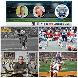 JT Thomas, Tony Collins, Ross Greenburg, & Don Beebe Join Us...