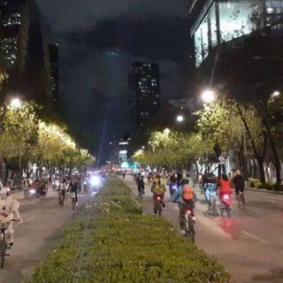 Celebran Paseo Nocturno