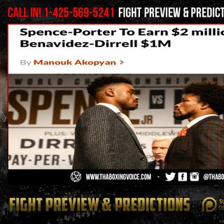 ☎️Spence-Porter To Earn $2 million Each😱They REALLY DUCKING🦆Terence Crawford❓