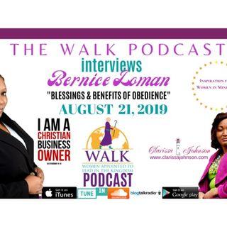Women in Ministry- Bernice Loman talks Blessings & Benefits of Obedience