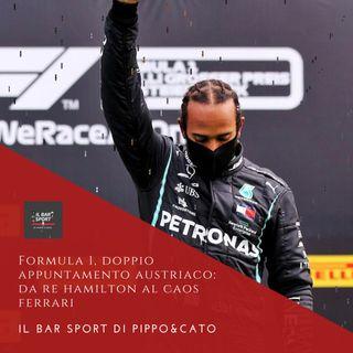 Bonus Track - Formula 1, doppio appuntamento austriaco: da Re Hamilton al caos Ferrari