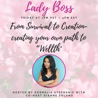 "From Survival to Creation- creating your own path to ""Wellth"" with Dianne Solano"