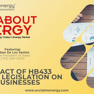 The Impact of Proposed Energy Legislation HB433 on Texas Businesses