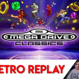 Retro Replay Episode 3 - Sega Mega Drive Classics Switch Gameplay and Impressions