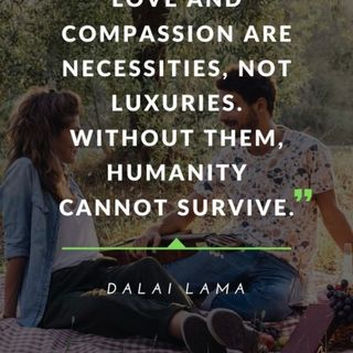 We all need to get and give a little compassion. Ep. 413