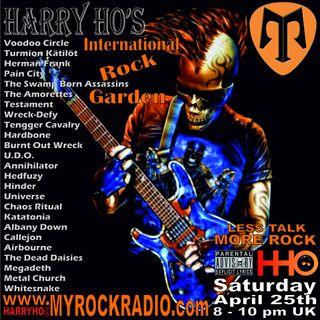 Harry Ho's intern. Rock Garden 25.04.2020