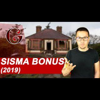 SISMA BONUS Abitazioni e locali per Attività Produttive (2019)
