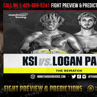 "☎️KSI vs. Logan Paul ""The Rematch"" Live Reaction🔥"