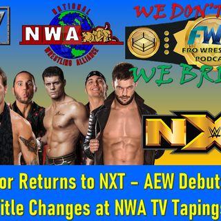 AEW Dynamite Debuts - Finn Balor & Ciampa Return
