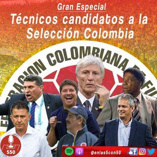 Polémica: Técnicos candidatos para la Selección Colombia